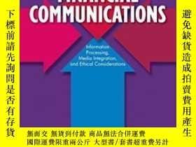 二手書博民逛書店Financial罕見Communications: Information Processing Media I