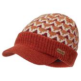 [好也戶外]mont-bell 羊毛針織鴨舌帽 靛藍/橘紅 No.1118580-IND/BTOG