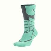 NIKE JORDAN JUMPMAN FLIGHT CREW 襪子 中筒 籃球 綠 黑 【運動世界】642210-391