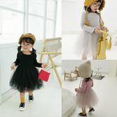 女寶寶甜美針織洋裝韓版加絨兒童氣質公主裙子4546 沸點奇跡