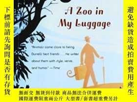二手書博民逛書店A罕見Zoo In My Luggage-我行李裏有個動物園Y436638 Gerald Durrell Pe