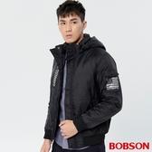 BOBSON 男款拆脫帽鋪棉外套(38038-88)