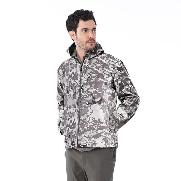 【TAKAKA】男 迷彩軟殼防風外套『迷彩淺灰』R52161 戶外 休閒 運動 露營 登山 外套 保暖 禦寒