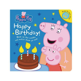 Peppa Pig:Happy Birthday! 佩佩豬生日快樂! 硬頁音效書