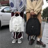 後背包ins超火包書包女韓版簡約百搭chic高中學生背包潮後背包 艾維朵
