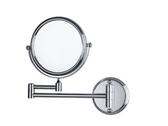 美容鏡 化妝鏡 圓鏡 雙面伸縮鏡 衛浴 浴室 廁所 牆面鏡 鏡面尺寸8吋