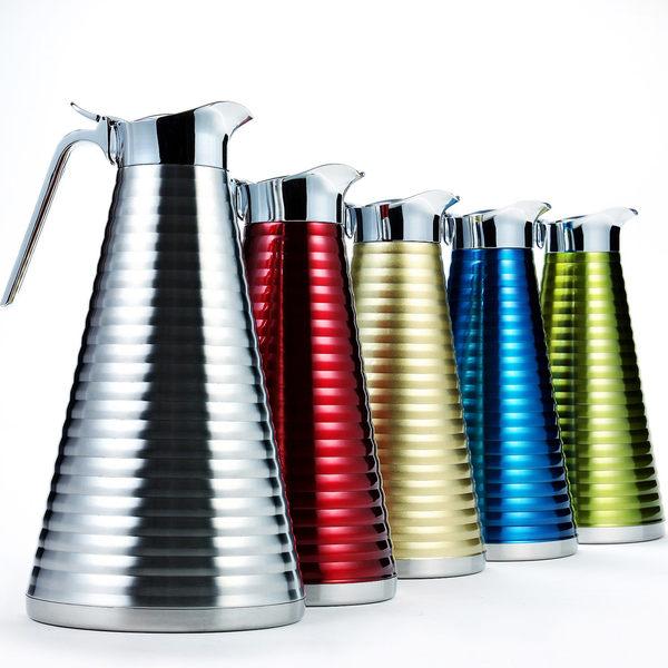 【創意巴巴】PASTON 德式經典不鏽鋼免插電保溫壺1.5L