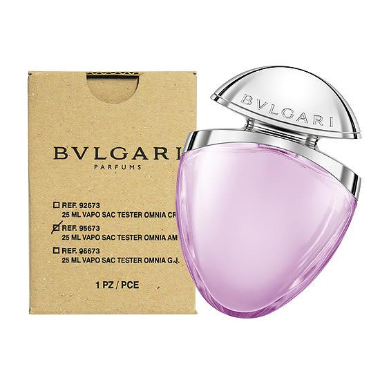 【BVLGARI 寶格麗】璀璨珠寶系列-紫水晶 女性淡香水 25ml (TESTER-環保盒)