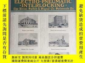 二手書博民逛書店ELECTRO—PNEUMATIC.IN罕見TERLOCKINGY161031 出版1914