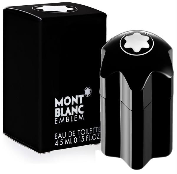 Montblanc Emblem 萬寶龍男性小香水 4.5ml ◆86小舖 ◆