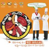 韓國 Kitchen Flower圓形37cm 烘蛋煮湯排油烤盤 油切烤盤  僅宅配【20456】