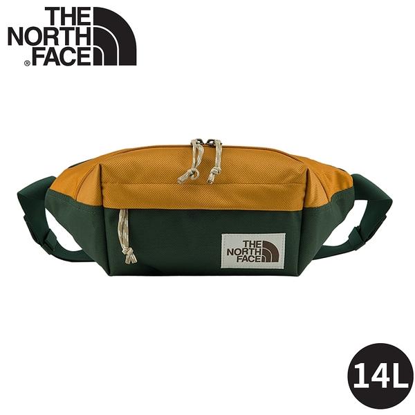 【The North Face 4L 腰包《棕綠》】3KY6/側背包/隨行包/臀包/透氣/運動/跑步