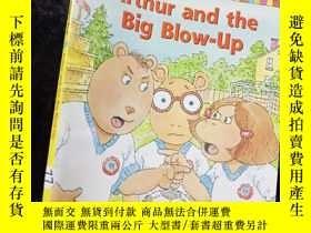 二手書博民逛書店Arthur罕見and the Big Blow-Up ...Y