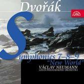 【停看聽音響唱片】【CD】德弗札克:7.8.9號交響曲 紐曼 指揮 捷克愛樂管弦樂團