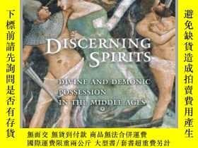 二手書博民逛書店【罕見】Discerning Spirits: Divine a