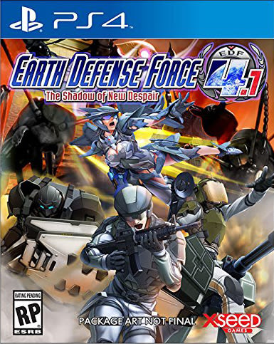 PS4 地球防衛軍 4.1 新絕望之影(美版代購)