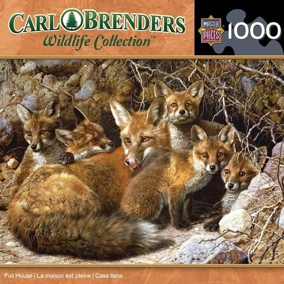 【KANGA GAMES】拼圖 野生動物系列 - 狐狸 Wildlife Collection - Full House 1000片