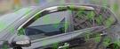 【一吉】05-11年 賓士W164(ML350) 鍍鉻飾條款 +原廠型 晴雨窗 /外銷日本(W164晴雨窗,W164 晴雨窗