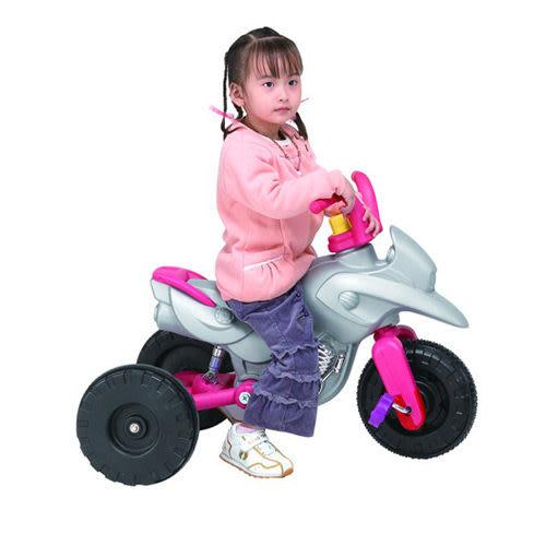 【奇買親子購物網】CHING-CHING親親彈力摩托車(黑/銀)