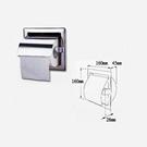 【 麗室衛浴】 國產 台灣製 LS-261R 不鏽鋼捲筒衛生紙架 嵌入式 #304