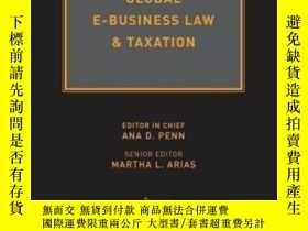 二手書博民逛書店Global罕見E-business Law & Taxation-全球電子商務法律與稅務Y436638 An