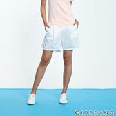 【GIORDANO】女裝A字型打折休閒短褲-13 白色