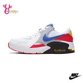 NIKE女鞋 AIR MAX EXCEE 大童鞋 氣墊鞋 氣墊運動鞋 運動鞋 休閒鞋 跑步鞋 P7242#白色◆OSOME奧森