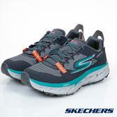 SKECHERS (女) GO Trail Ultra 4 跑步系列 /灰x藍 - 14111CCTL