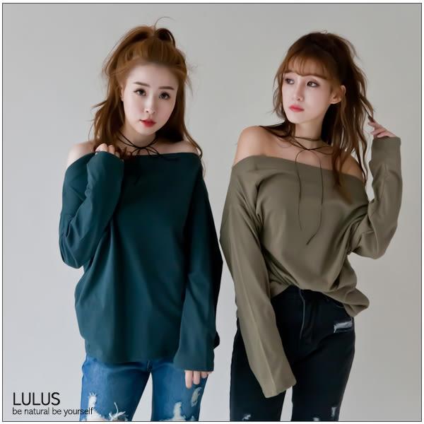 LULUS-N韓製-皮革垂墜蝴蝶結頸鍊-黑  現+預【08030185】