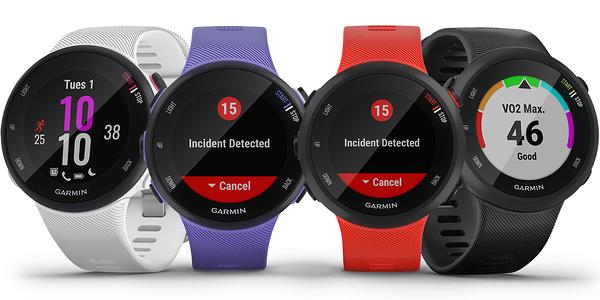 GARMIN Forerunner 45/45S GPS腕式心率跑錶