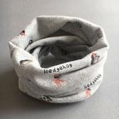 兒童圍脖男秋冬純棉女圍巾寶寶防風嬰兒冬季保暖小孩潮款套頭脖套