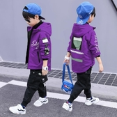 童裝男童秋冬裝夾棉加厚外套2020新款兒童中大童加棉外衣韓版潮衣 童趣