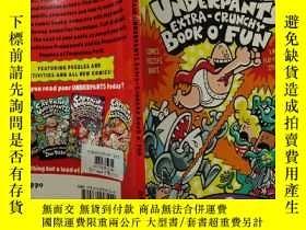 二手書博民逛書店The罕見Captain Underpants Extra—Crunchy Book o Fun: 上尉的內褲特別