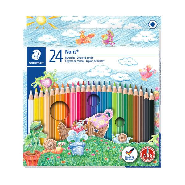 施德樓 MS144 NC24快樂學園 油性色鉛筆24色組