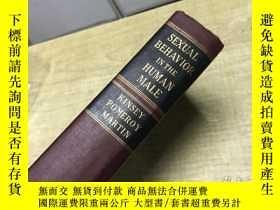 二手書博民逛書店Sexual罕見Behavior in the Human Male 1948年 版本 稀 見 D51Y253