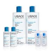 Uriage 優麗雅 全效保養潔膚水(正常偏乾性肌膚) 500mlx2(效期至2019.11)+50mlx2+8mlx2【美人密碼】