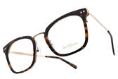 PAUL HUEMAN 光學眼鏡 PHF5104A C04 (琥珀棕-金) 時尚復古款 韓國眼鏡 # 金橘眼鏡