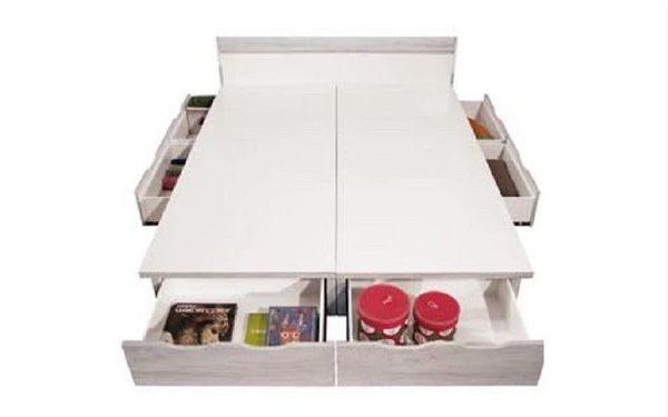 8號店鋪 森寶藝品傢俱 b-06 品味生活 臥室 系列 110-2 狄倫古橡木5尺床組(全組)