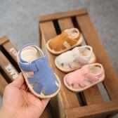 七夕情人節禮物2018夏季新款涼鞋學步鞋包頭軟底防滑1-2-3歲寶寶童鞋男女童涼鞋