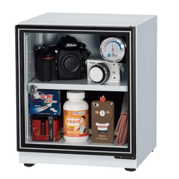 防潮家 SD-48(黑) 生活指針型 34 公升 電子防潮箱