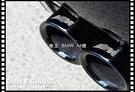 【車王小舖】BMW 520 528 535 F10 F11 5系 尾飾管 尾管 排氣管 尾喉 鈦黑 加厚