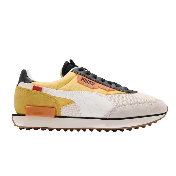 Puma 休閒鞋 Future Rider New Tone 白 黃 男鞋 女鞋 Jolin 明星代言款【ACS】 37338602