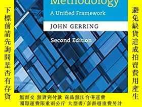 二手書博民逛書店Social罕見Science Methodology: A Unified Framework (Strateg