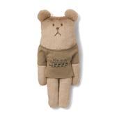 CRAFTHOLIC 宇宙人 松本聯名溜冰款熊小抱枕