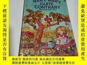 二手書博民逛書店MARY,MARY,QUITE罕見CONTRARY(英文)Y212829