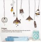 ►壁貼專賣店 燈 可移除牆貼壁 壁貼哪裡買 貼紙【A3012】