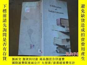 二手書博民逛書店A罕見Millennium of Turkish Literat