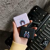 Airpods Pro 專用 台灣發貨 [ 行李箱 潮牌黑白鯊魚 ] 藍芽耳機保護套 蘋果無線耳機保護