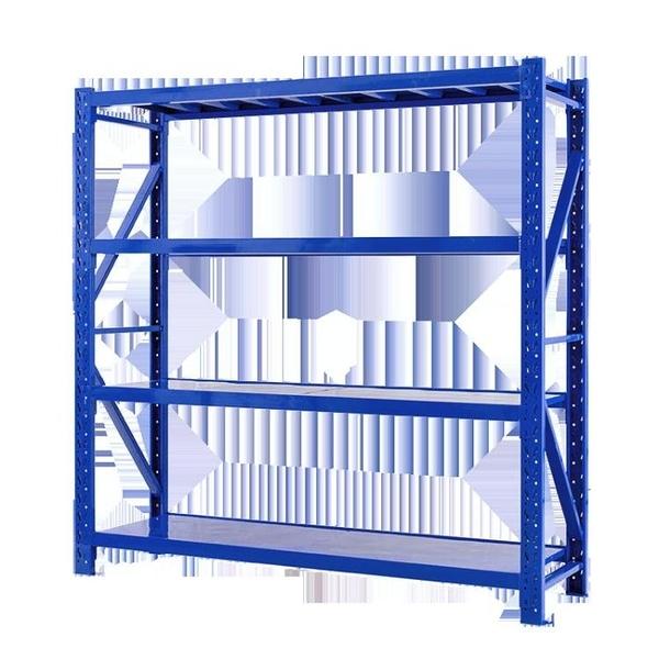瑞貝倉儲貨架重型五金置物可拆卸輕型家用地下室倉庫房多層鐵架子 「免運」