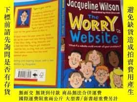 二手書博民逛書店jacqueline罕見wilson the worry website 傑奎琳·威爾遜擔憂網站.Y2003